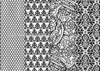 Damask Pattern 4