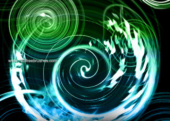 Abstract Swirls