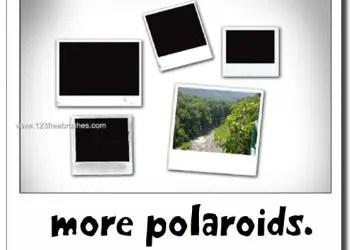 Polaroid Photo Frames 4