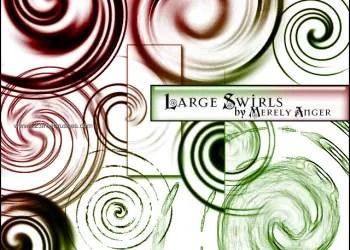Large Swirl Designs