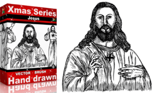 Xmas Series: Hand Drawn Jesus