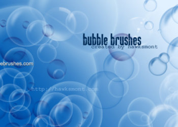 Water Bubbles Brushes Photoshop Free