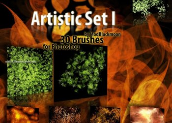 Abstract Brushes Download
