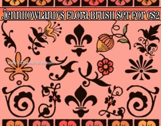 Free Photoshop 7 Flower Brushes Download