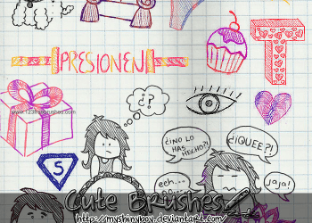 Doodle Children Drawing Set 4