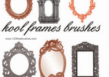 Vintage Ornate Picture Frames Pack