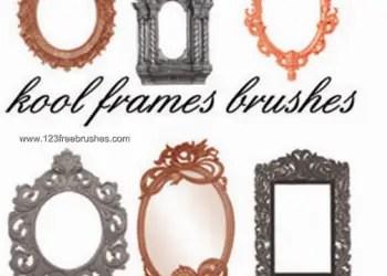 Vintage Ornate Picture Frames Pack
