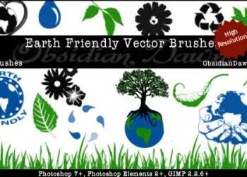 Earth Friendly Vectors