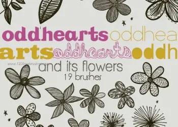 Flower Brushes Photoshop Free