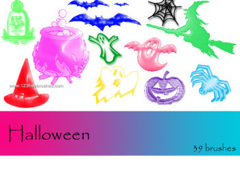 Halloween Brushes Para Photoshop