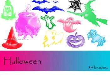 Halloween Brushes Para Photoshop