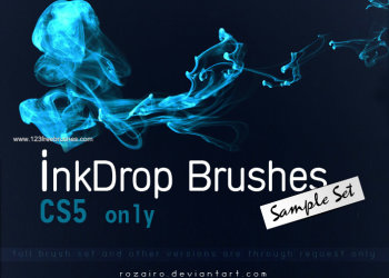 Abstract Ink Drop