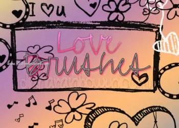 Valentines Love Doodles