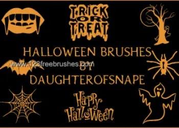 Free Adobe Photoshop Halloween Brushes Kit