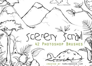 Scenery Scrawl
