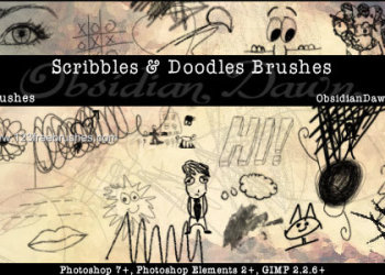 Scribbles and Doodles Set 2