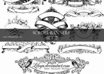 Vintage Scroll Banner