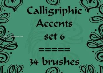 Calligraphic Accents