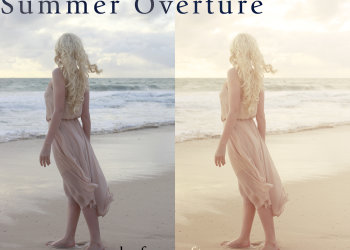Photoshop Summer Effect