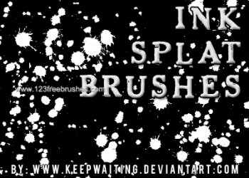 Ink Splatter