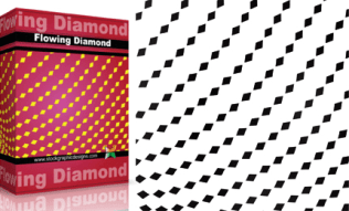 Flowing Shapes : Diamond Pack