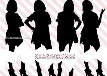 Selena Gomez Silhouettes