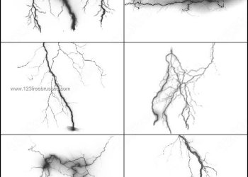 Free Download Lightning Brush Photoshop