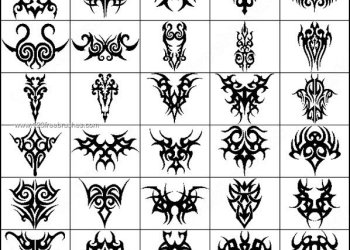 Celtic Tribal Tattoo Designs Brushes