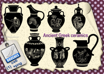 Ancient Greek Ceramics Set