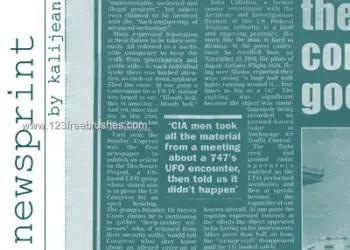 Newsprint Text