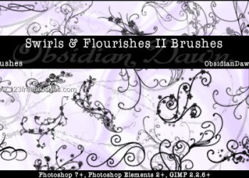 Swirls Flourishes
