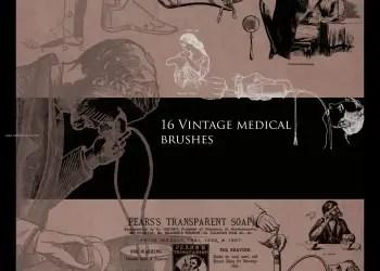 Vintage Medical Set 1