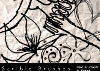 Scribbles and Doodles Set 1