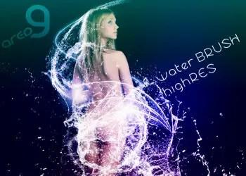 High resolution water