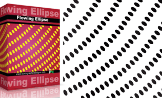 Flowing Shapes : Ellipse Pack