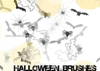 Cute Halloween Photoshop Brushes Photoshop