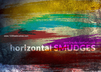 Horizontal Smudges