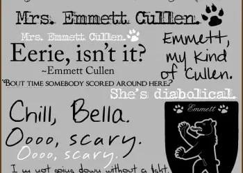 Emmett Twilight Saga Quotes