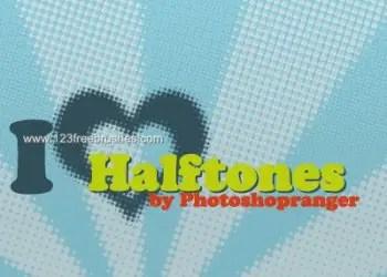 Heart Halftones