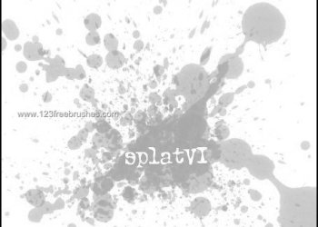 Ink Splatter Paint 116