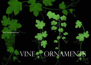 Vine Ornaments