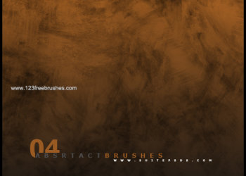 Abstract Background Brushes Set