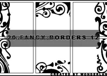 Fancy Icon Borders
