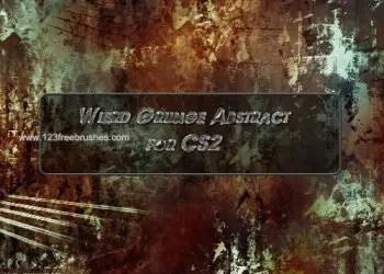 Weird Grunge Abstract