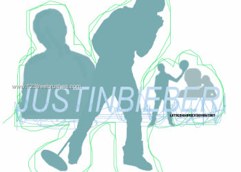 Justin Bieber Silhouettes