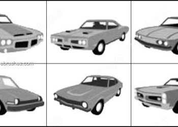 Brush Car Photoshop