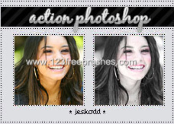 Photo Retouching Actions Photoshop