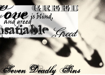 Seven Deadly Sins – Greed Text