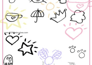 Japanese Fun Doodle