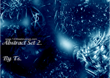 Blue Abstract Fractal